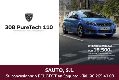Peugeot SAUTO PURE TECH JUN