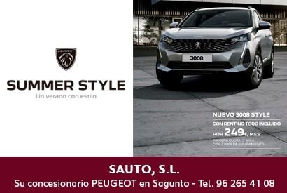 Peugeot 3008 Julio 2021