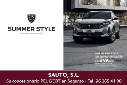 Peugeot 3008 Agosto 2021