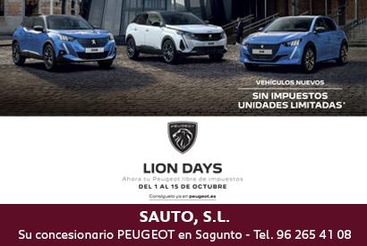 Peugeot Lion Days Octubre (interior texto)