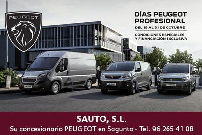 Peugeot días profesional 18-31 oct