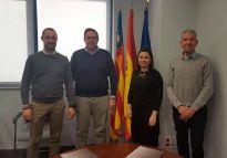 La firma del convenio se llevó a cabo ayer en las oficinas de ASECAM