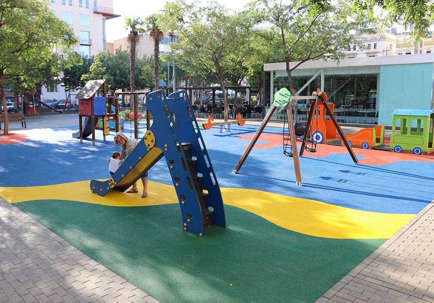 Finalizan Las Obras En La Zona De Juegos Infantiles De La Glorieta
