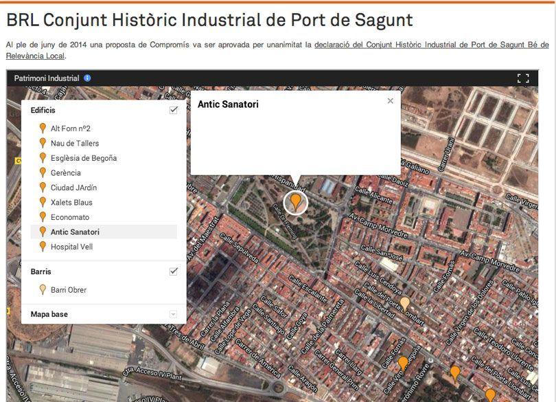 Compromis Lanza Un Mapa Interactivo Del Patrimonio Historico