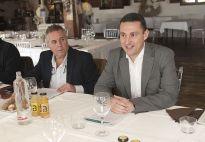 Antonio Barros y Miguel Ángel Urbano en un momento de la rueda de prensa