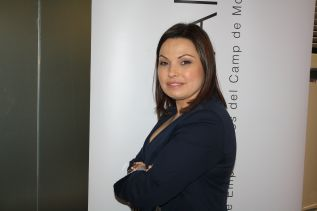 Cristina Plumed, presidenta de la asociación empresarial comarcal ASECAM
