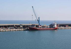 El puerto de Sagunto canaliza más de dos millones de toneladas en el primer semestre del año