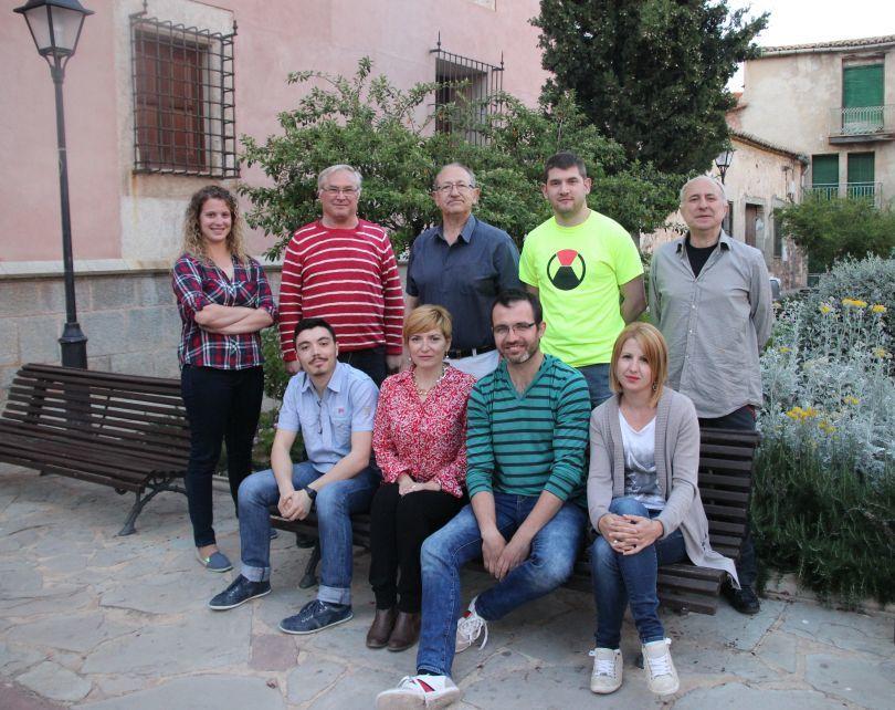 Integrantes de la formación Junts per Faura