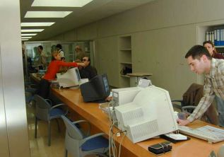 Oficinas del Servef Comarcal (Archivo)
