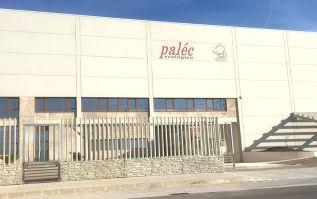 Instalaciones de Paléc Ecológico S.L. en el polígono Camí la Mar de Puerto de Sagunto