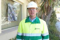 El nuevo director de la fábrica de Lafarge en Sagunto,José Luis Coleto